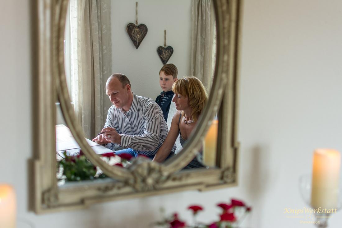 Hochzeitsfotos Spiekeroog - Die Unterschrift