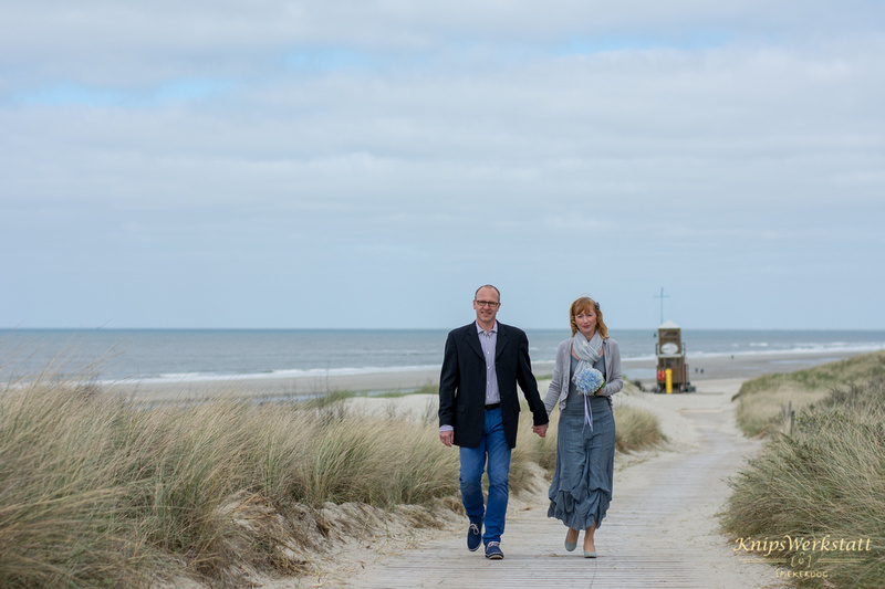 Hochzeitsfotos Spiekeroog - Strand