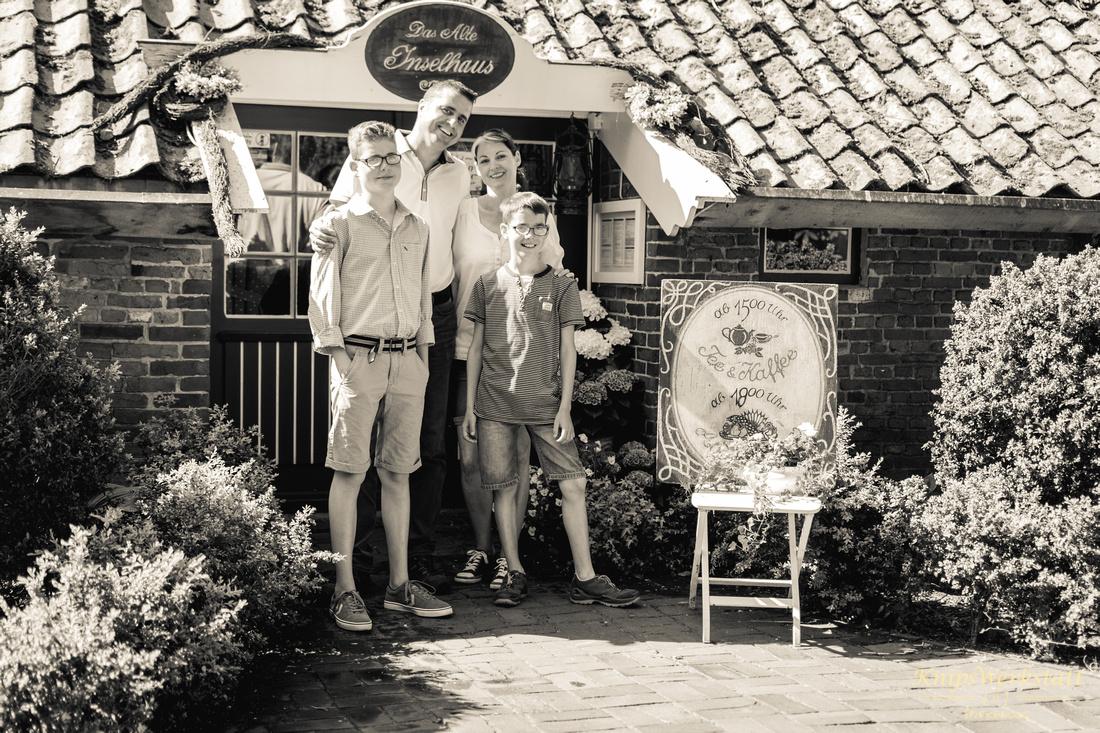 Fotoshooting Spiekeroog Familie