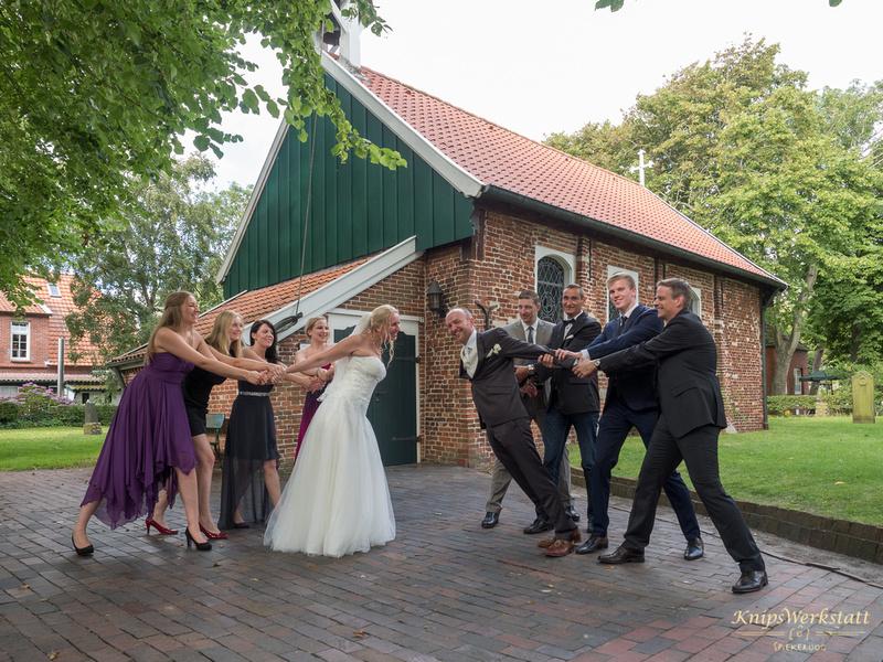 Hochzeitsfoto_Spiekeroog_Alte_Inselkirche