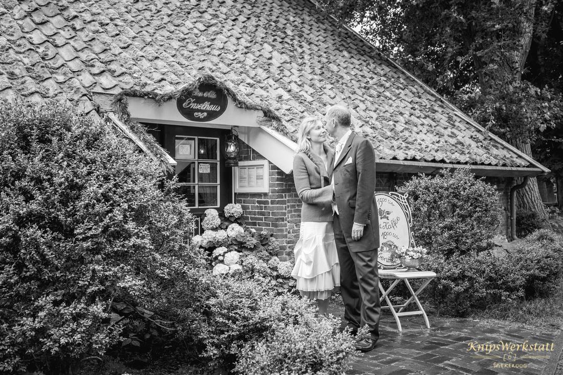 Hochzeit Spiekeroog - Hochzeitsfoto Altes Inselhaus