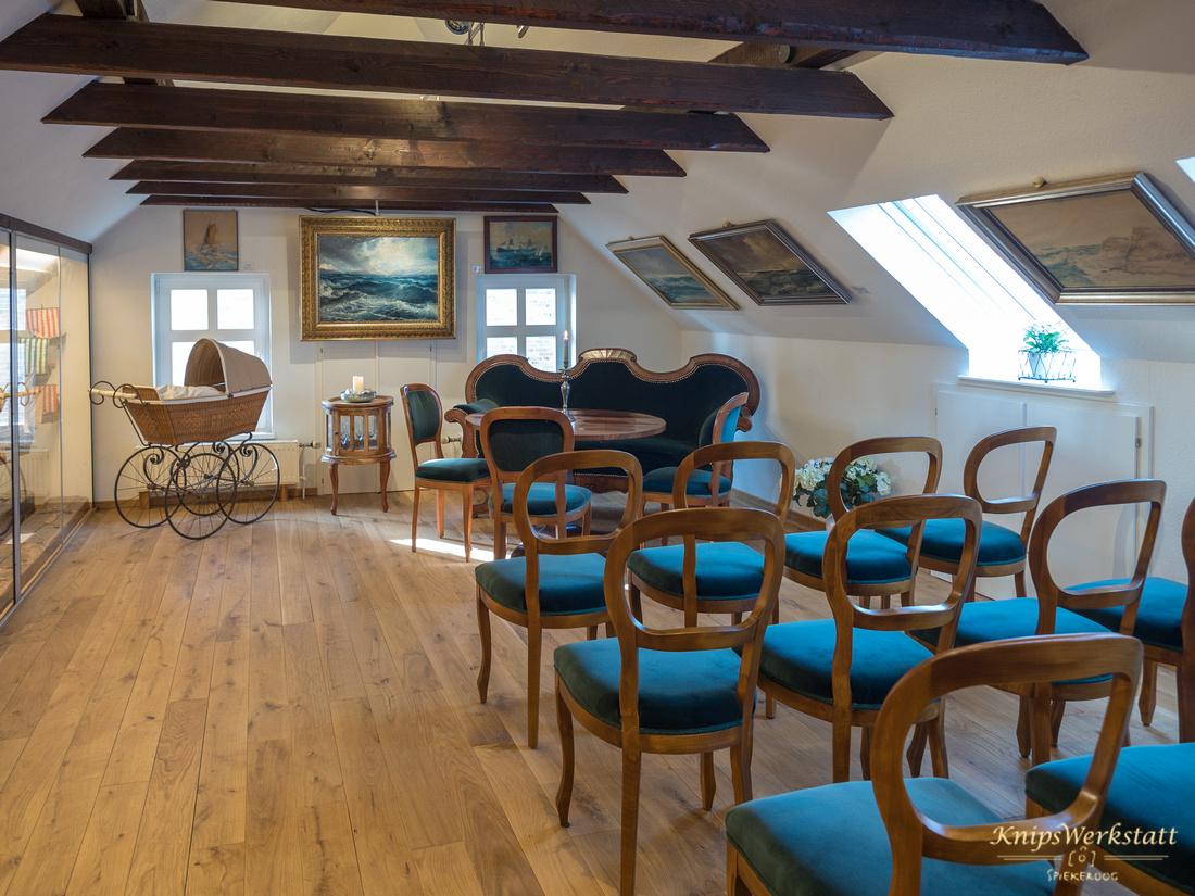 Trauzimmer im Inselmuseum Spiekeroog