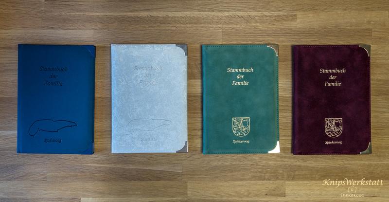 Familienstammbücher Gemeinde Spiekeroog