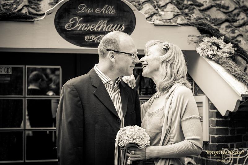 Hochzeitsfotos Spiekeroog - Altes Inselhaus