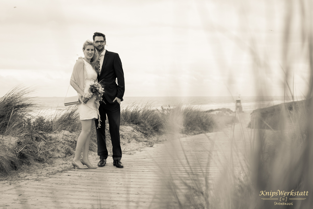 Hochzeit Spiekeroog - Hochzeitsfoto - Strand