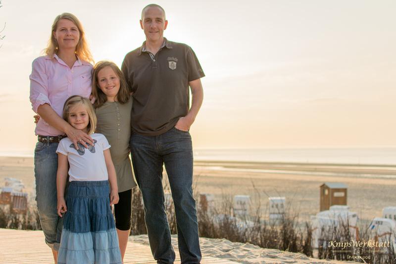 Fotograf Spiekeroog - Familienfotoshooting - Strand Gegenlicht