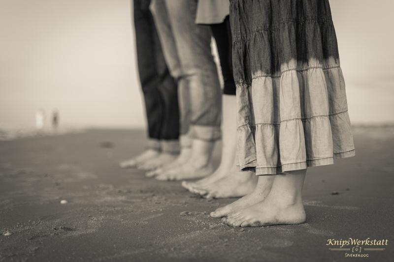 Fotograf Spiekeroog - Familienfotoshooting - Füße