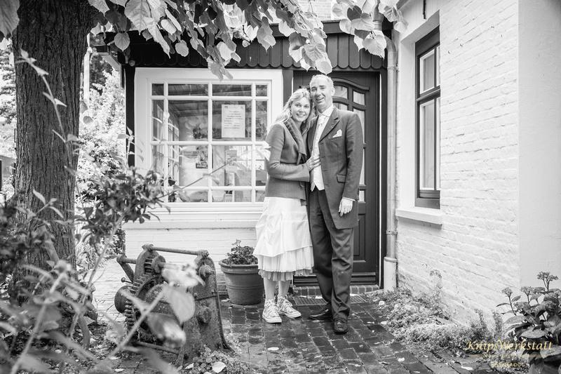 Hochzeit Spiekeroog - Hochzeitsfoto Inselmuseum