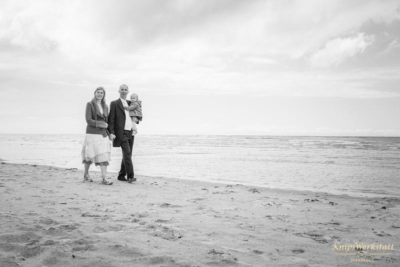 Hochzeit Spiekeroog - Hochzeitsfoto am Strand