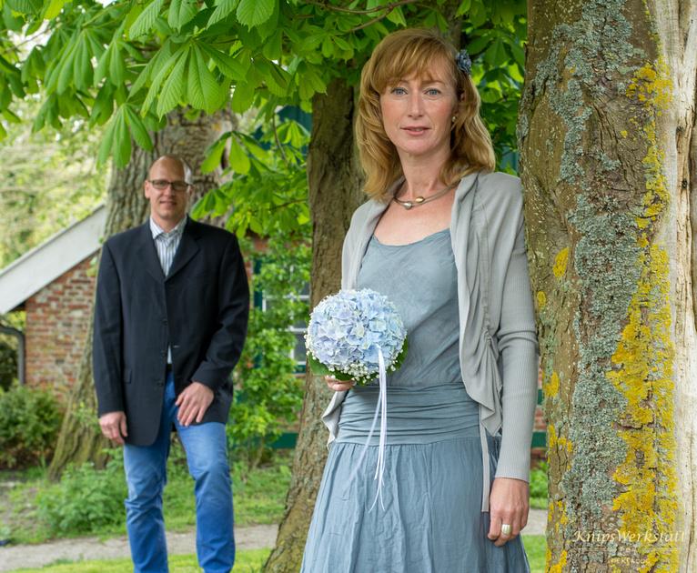 Hochzeitsfotos Spiekeroog - Alte Bäume